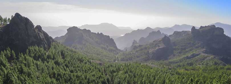 Gran Canaria fjell daler