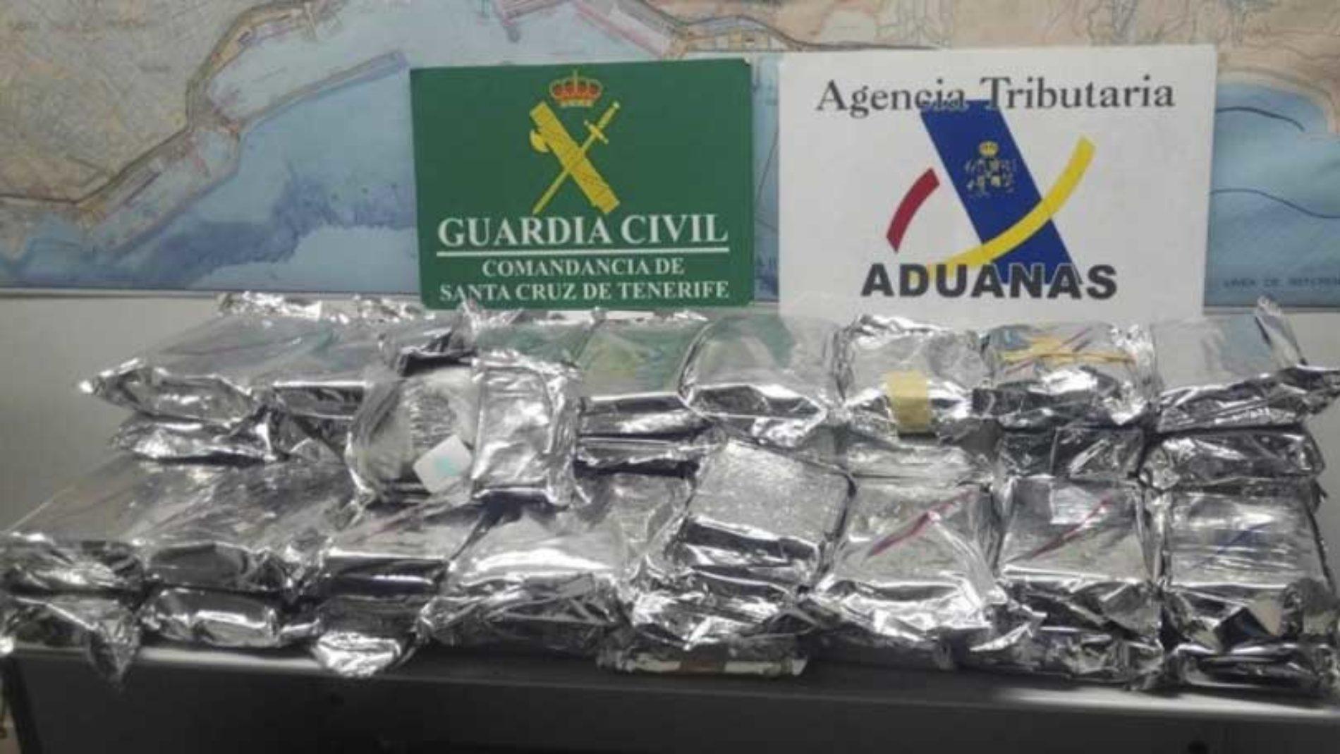 Tatt på Tenerife med 59 kilo kokain