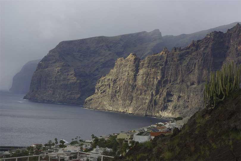 Acantilados de Los Gigantes klippe