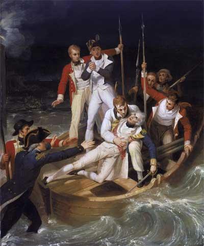 Admiral Nelson skadd Tenerife