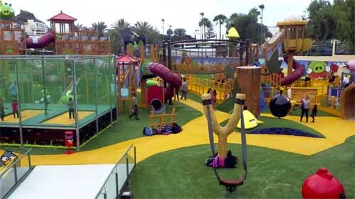 Angry Birds fornøyelsespark Gran Canaria