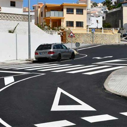 Mange asfaltarbeider ferdigstilt i Arguineguín