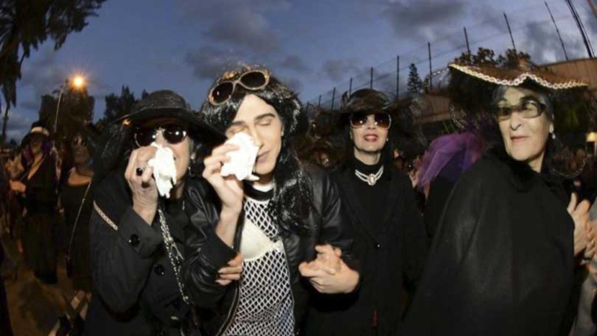 Tok farvel med karnevalet for i år