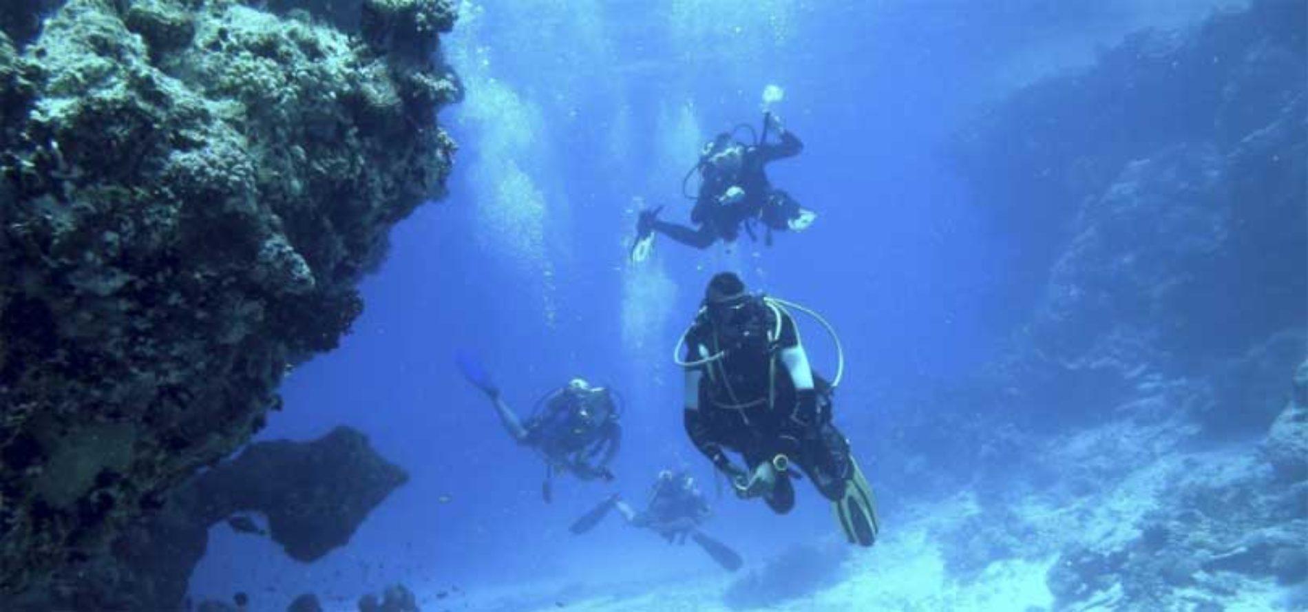 Caleta de Fuste på Fuerteventura best til dykking