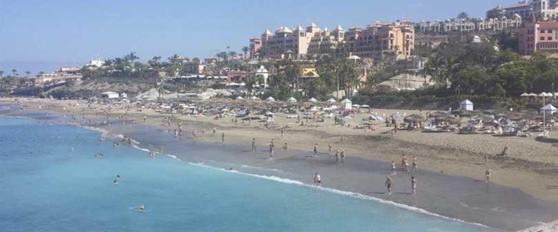 To mannlige turister druknet på Tenerife i går