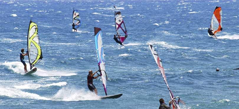 El Medano vindsurfing