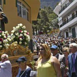 Tusen mennesker feiret skytshelgenen til Mogán