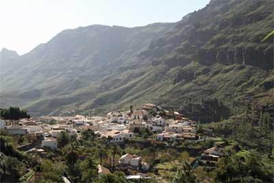 Fjellandsby Gran Canaria