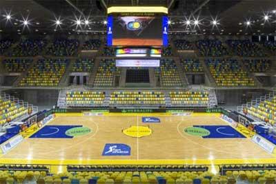 Gran Canaria Arena basketball