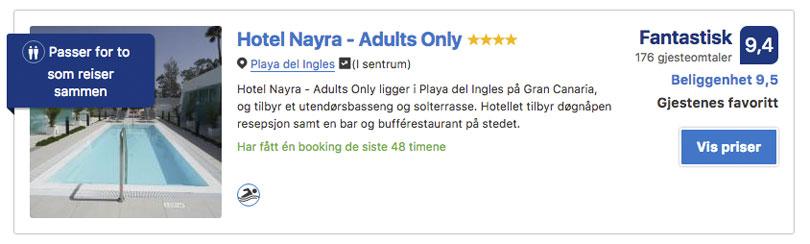 Hotel Nayra Playa del Ingles