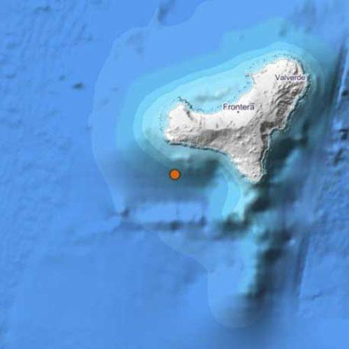 Jordskjelv på 3,5 målt utenfor El Hierro