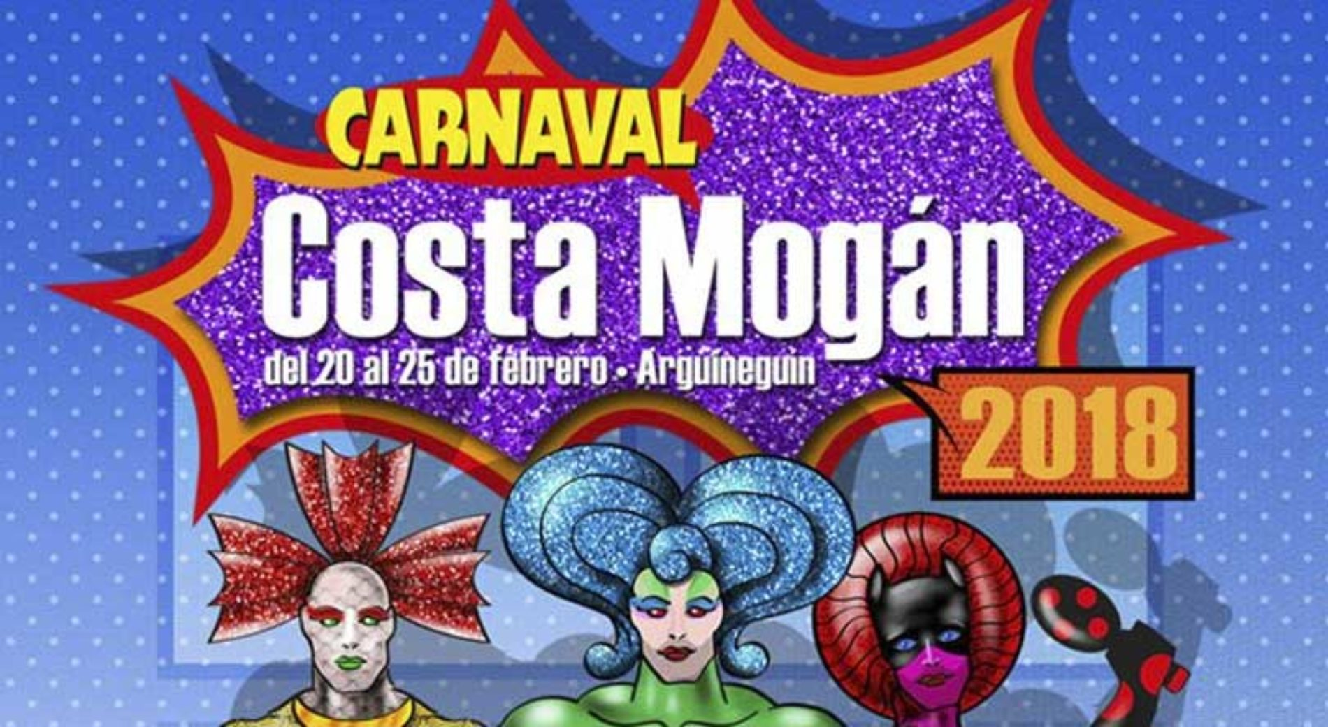 Morsomme karnevalsdager i Mogán i vente!
