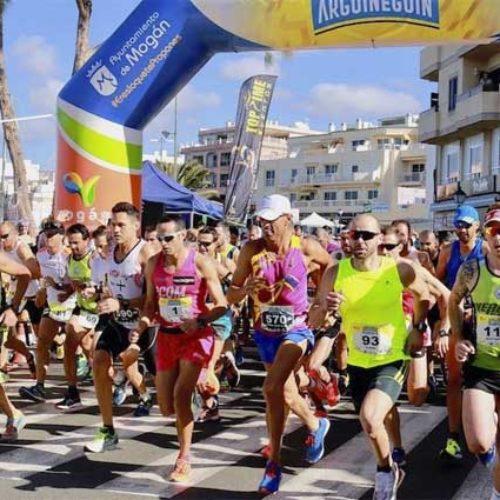 Mer enn 570 deltar i løp i Arguineguín