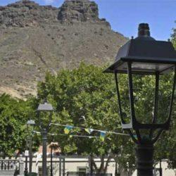Mogán skal spare støm – innstallerer LED-lys