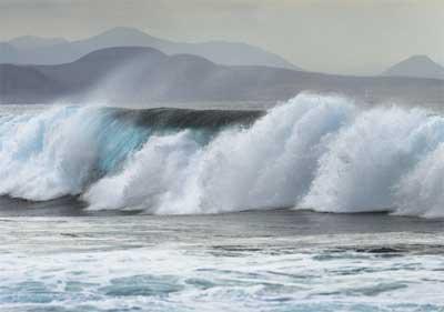 Lanzarote bølger