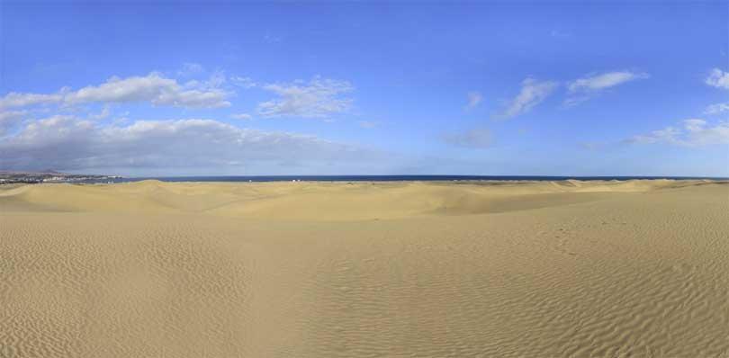 Maspalomas sand sanddyner ørken