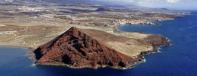 Montana Roja El Medano Tenerife
