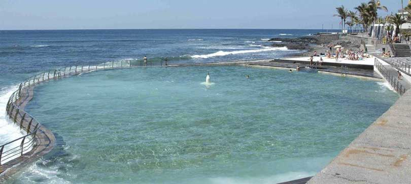 Naturlige svømmebasseng Punta del Hidalgo
