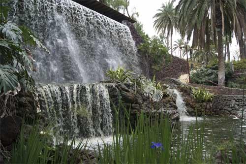 Parque Taoro foss Tenerife