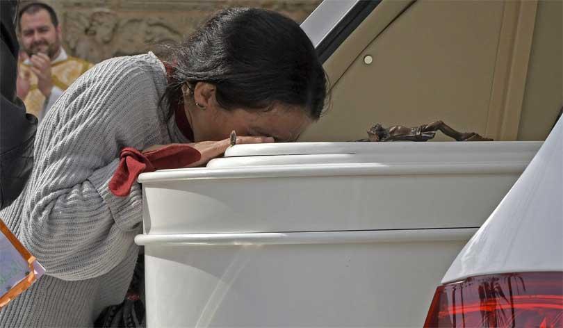 Patricia Ramirez Gabriel Cruz kiste