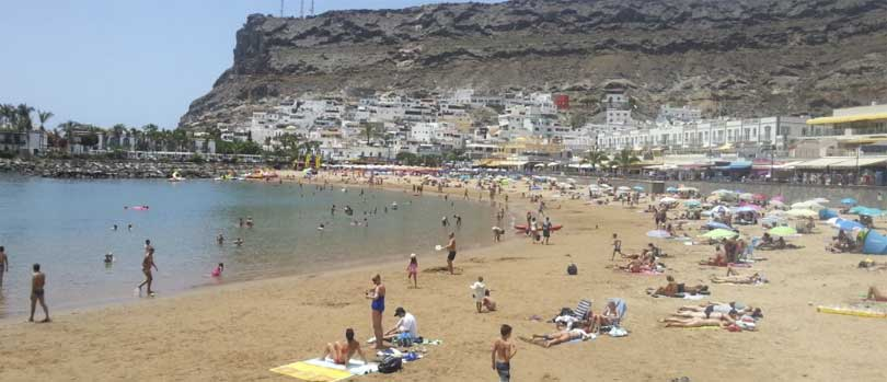 Playa de Mogan strand