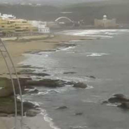 Skyer, regn og sterk vind preger Kanariøyene