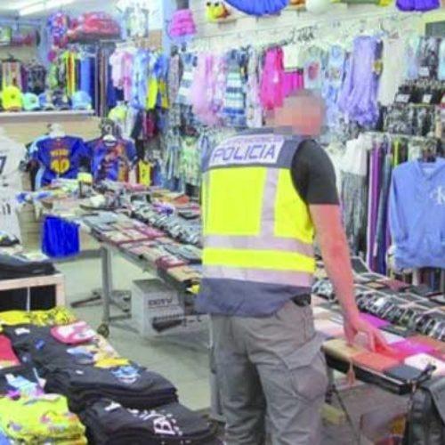 Seks butikker raidet av politiet i San Agustín