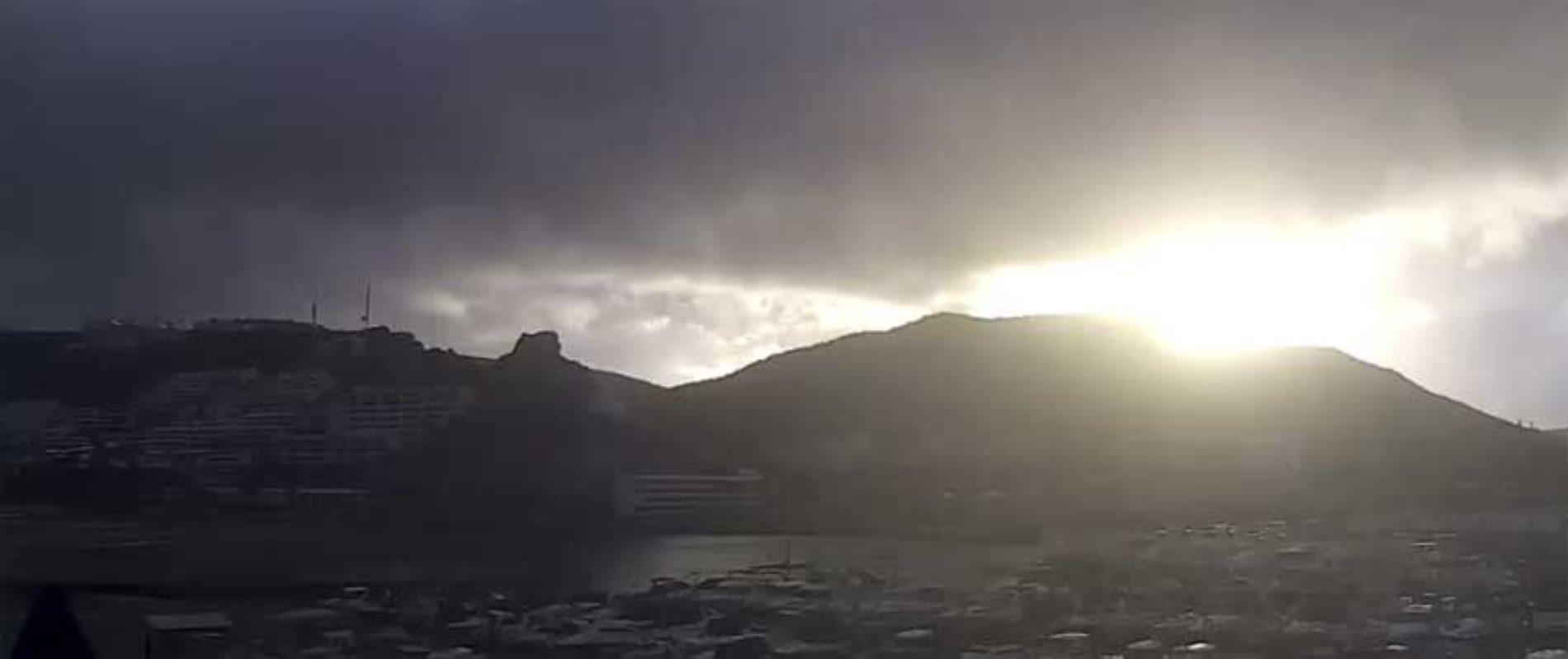 Regnvarsel for 11 kommuner på Gran Canaria