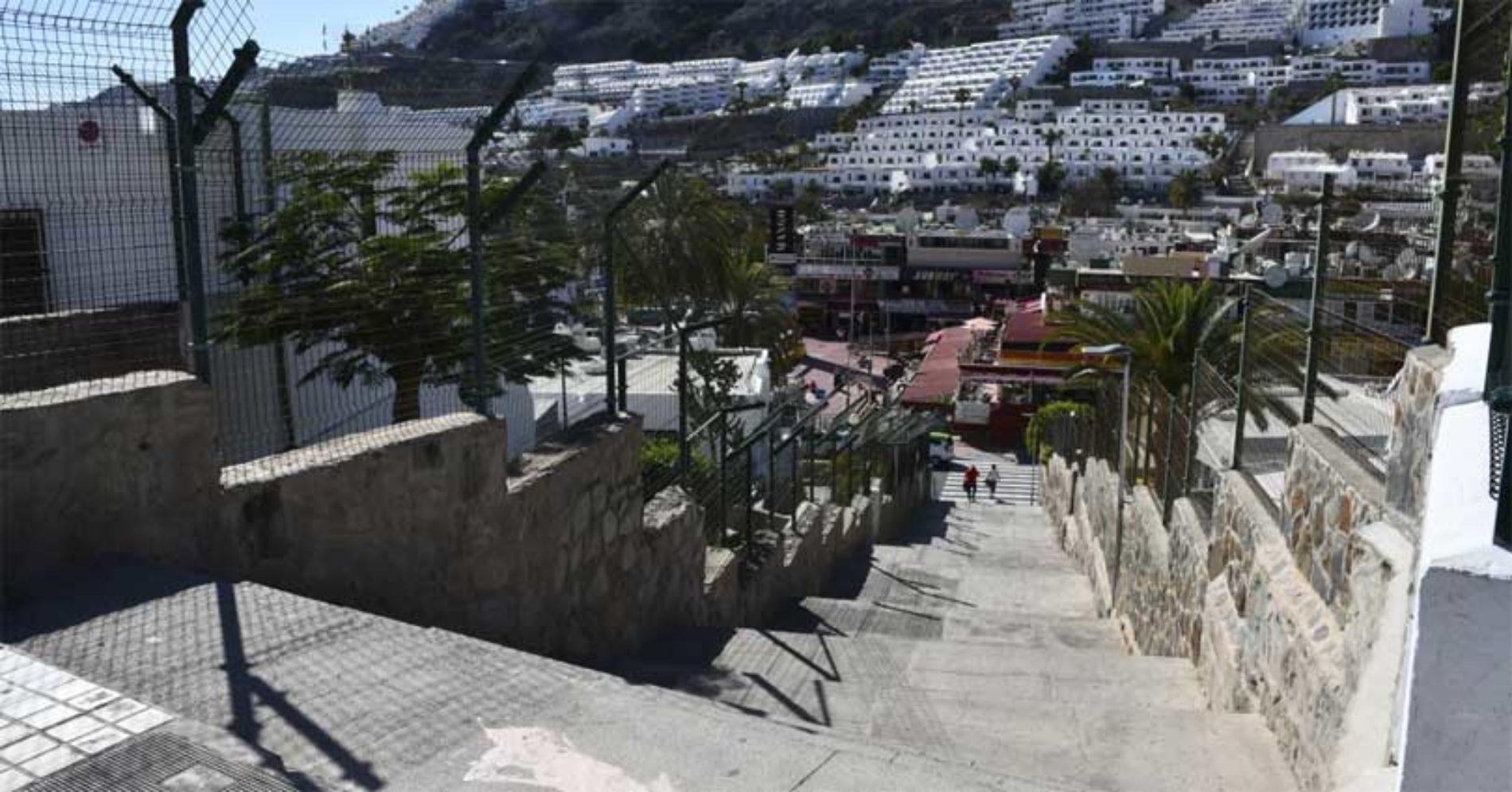 Mogán vil pusse opp flere trapper i Puerto Rico