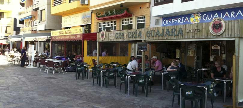 Restauranter El Medano Tenerife