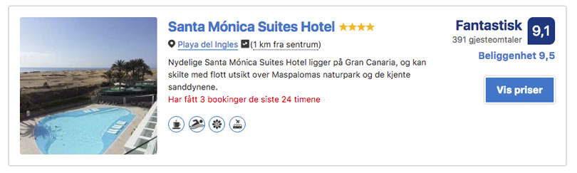 Santa Monica Suites Hotel Playa del Ingles