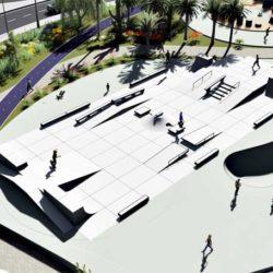 Maspalomas moderniserer skateparken for 3,2 millioner kroner