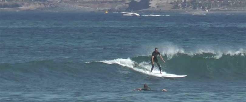 Surfing playa de las americas