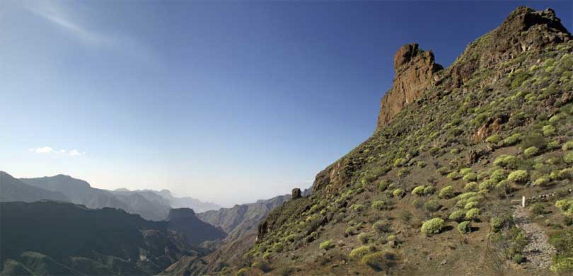 Tørr mars på Gran Canaria