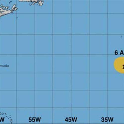 Kan få besøk av den tropiske stormen Theta