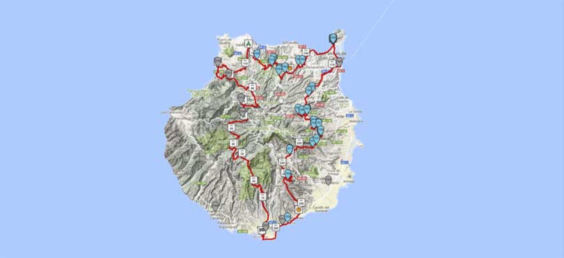 De første løperne i Transgrancanaria kommer i mål!