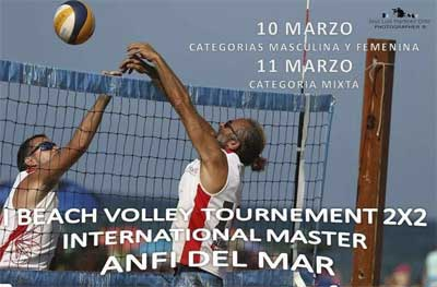 Sandvolleyball turnerng Anfi del Mar