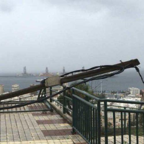 Været skapte problemer i Las Palmas – kommer med advarsler og råd for torsdagen