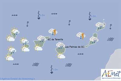 Værvarsel onsdag 7 februar 2018