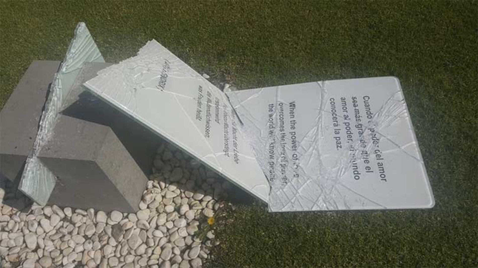 Vandaler med ødeleggelser i park i Maspalomas
