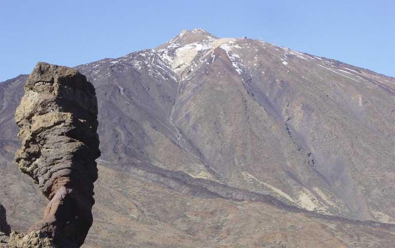 Vulkanen Teide Tenerife La Orotava
