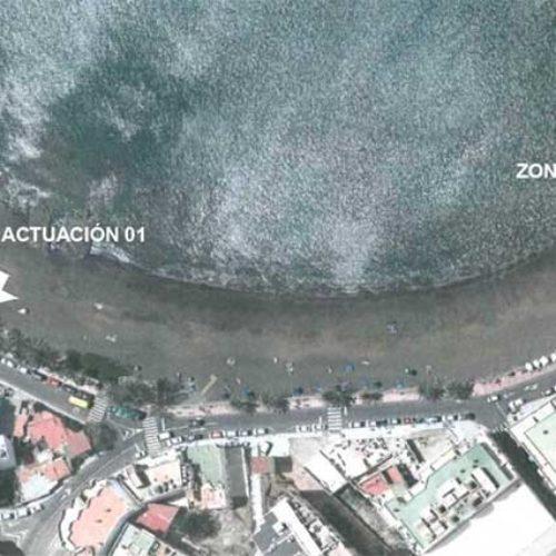 Utbedringer ved  Las Marañuelas-stranden