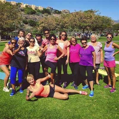 yoga trening lilly rikhter maspalomas parque sur